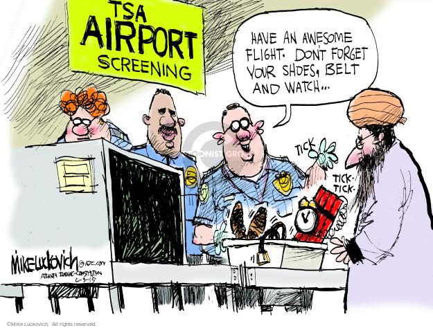 Cartoonist Mike Luckovich  Mike Luckovich's Editorial Cartoons 2015-06-03 handgun