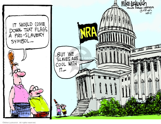 Mike Luckovich  Mike Luckovich's Editorial Cartoons 2015-06-23 political lobby