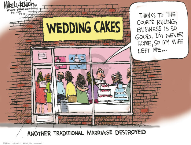 Cartoonist Mike Luckovich  Mike Luckovich's Editorial Cartoons 2015-07-01 legal
