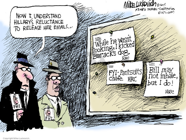 Mike Luckovich  Mike Luckovich's Editorial Cartoons 2015-08-16 release
