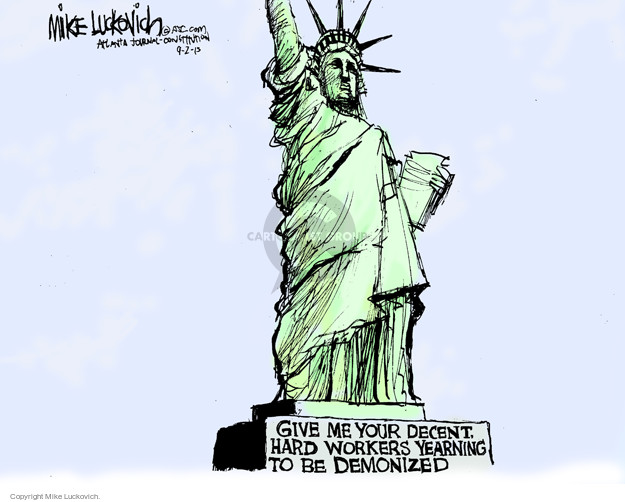 Mike Luckovich  Mike Luckovich's Editorial Cartoons 2015-09-02 worker