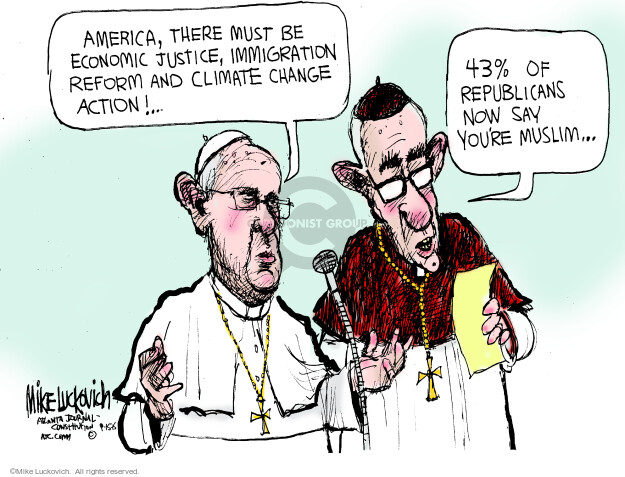 Mike Luckovich  Mike Luckovich's Editorial Cartoons 2015-09-15 stance
