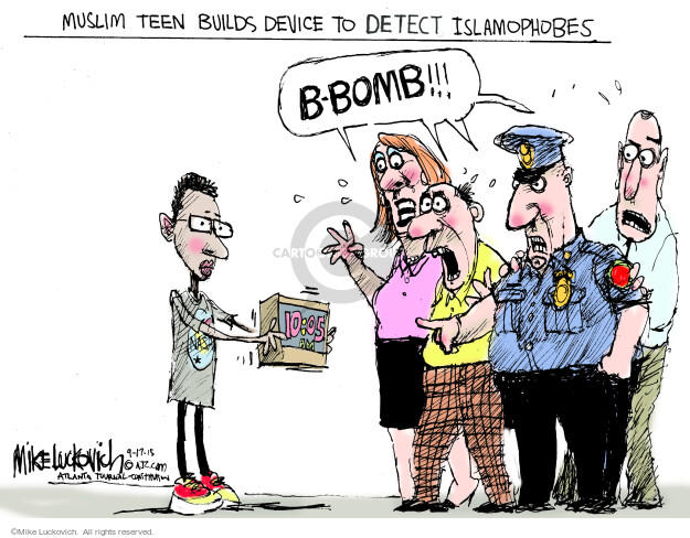 Mike Luckovich  Mike Luckovich's Editorial Cartoons 2015-09-17 technology