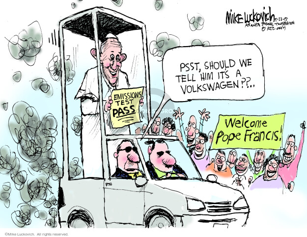 Mike Luckovich  Mike Luckovich's Editorial Cartoons 2015-09-23 company