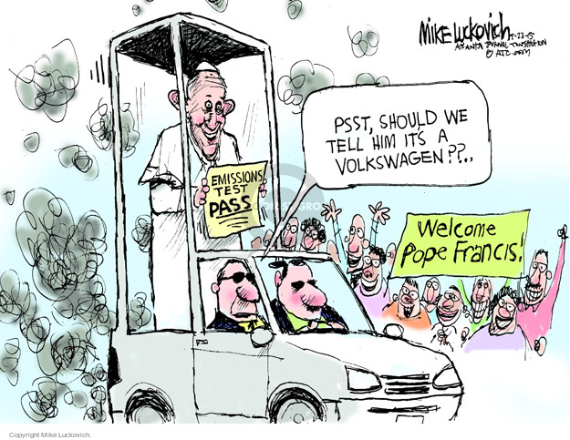 Cartoonist Mike Luckovich  Mike Luckovich's Editorial Cartoons 2015-09-23 company