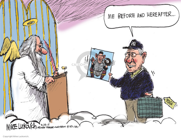 Mike Luckovich  Mike Luckovich's Editorial Cartoons 2015-09-24 death dying