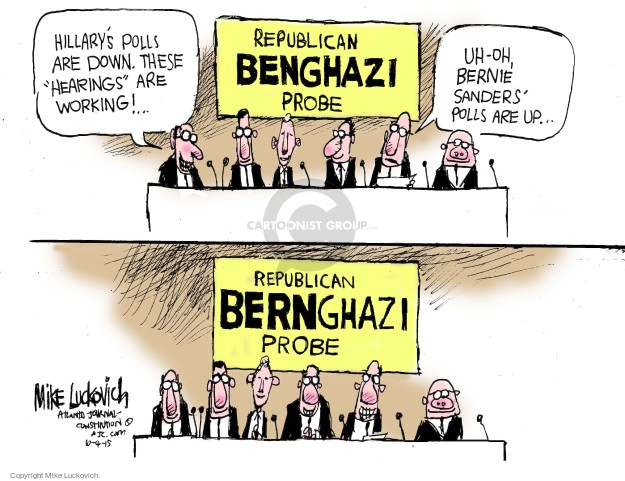 Mike Luckovich  Mike Luckovich's Editorial Cartoons 2015-10-04 partisan