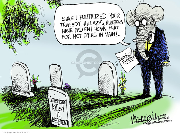Mike Luckovich  Mike Luckovich's Editorial Cartoons 2015-10-08 fatality