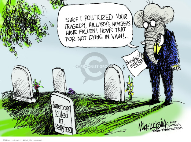Cartoonist Mike Luckovich  Mike Luckovich's Editorial Cartoons 2015-10-08 election