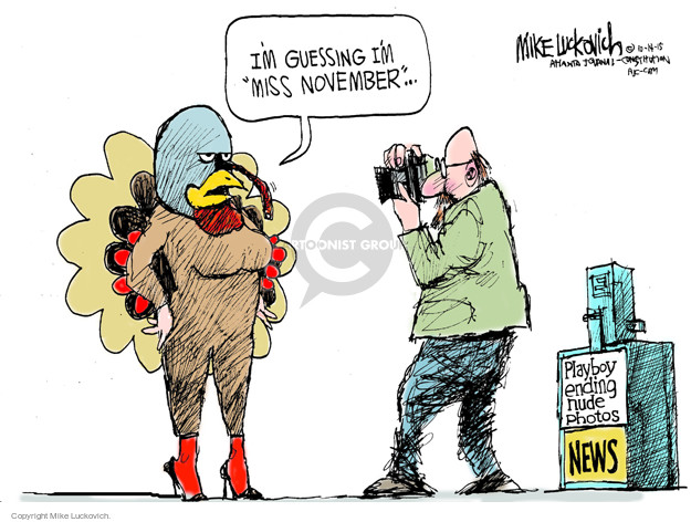 Cartoonist Mike Luckovich  Mike Luckovich's Editorial Cartoons 2015-10-14 picture