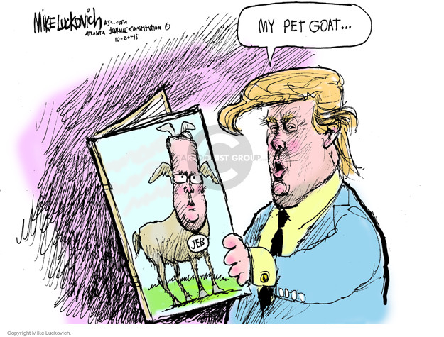 Mike Luckovich  Mike Luckovich's Editorial Cartoons 2015-10-20 2016 election