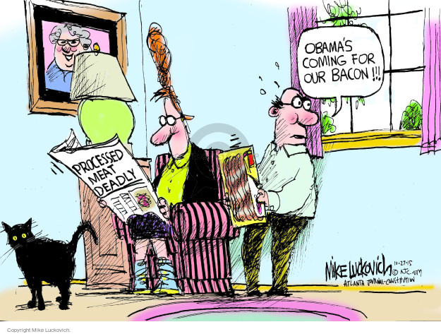 Mike Luckovich  Mike Luckovich's Editorial Cartoons 2015-10-27 World Health Organization