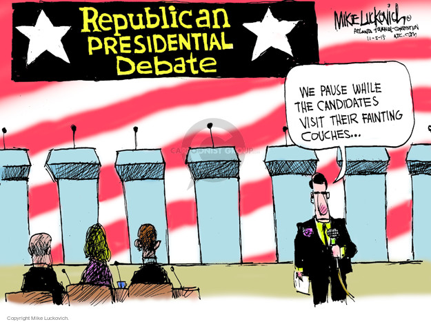 Mike Luckovich  Mike Luckovich's Editorial Cartoons 2015-11-05 2016 election