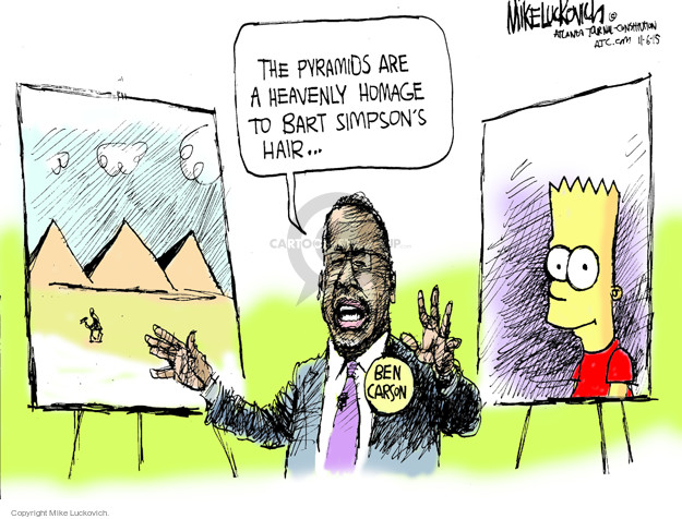 Mike Luckovich  Mike Luckovich's Editorial Cartoons 2015-11-06 republican politician