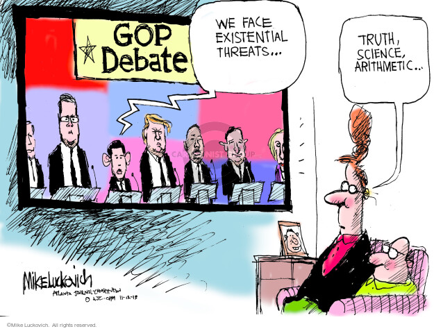 Mike Luckovich  Mike Luckovich's Editorial Cartoons 2015-11-12 2016 election