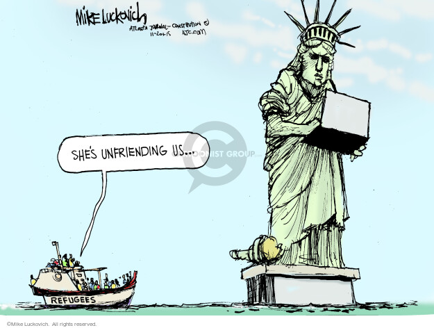 Mike Luckovich  Mike Luckovich's Editorial Cartoons 2015-11-20 website