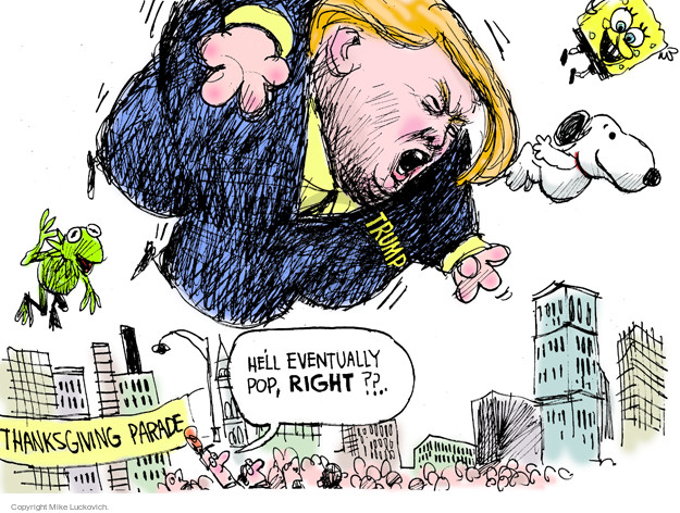 Mike Luckovich  Mike Luckovich's Editorial Cartoons 2015-11-22 parade