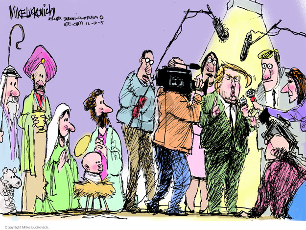 Mike Luckovich  Mike Luckovich's Editorial Cartoons 2015-12-10 journalist
