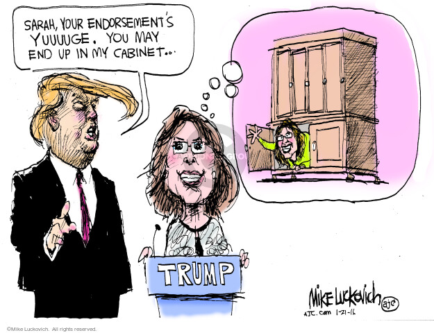 Mike Luckovich  Mike Luckovich's Editorial Cartoons 2016-01-21 furniture