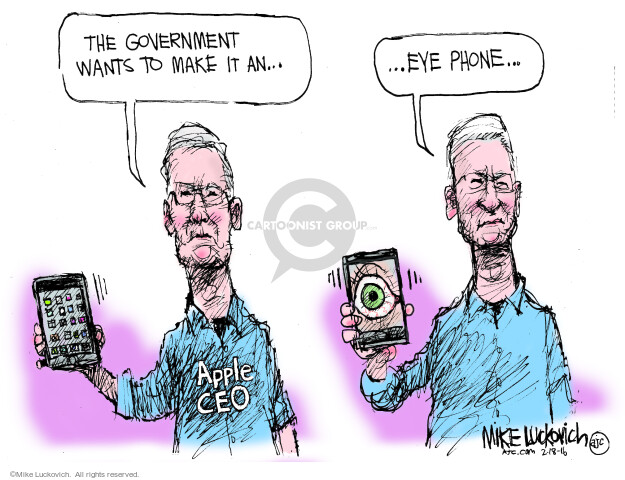 Mike Luckovich  Mike Luckovich's Editorial Cartoons 2016-02-18 Federal government