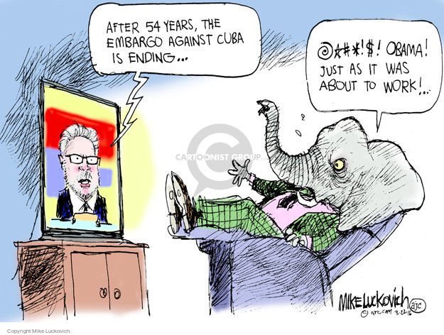 Mike Luckovich  Mike Luckovich's Editorial Cartoons 2016-03-22 Republican opposition