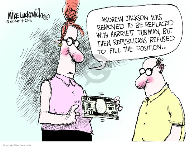 Mike Luckovich  Mike Luckovich's Editorial Cartoons 2016-04-21 currency