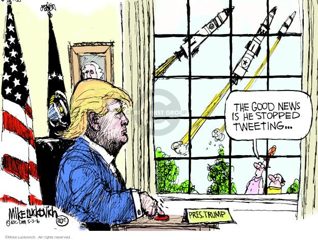 Cartoonist Mike Luckovich  Mike Luckovich's Editorial Cartoons 2016-05-03 good