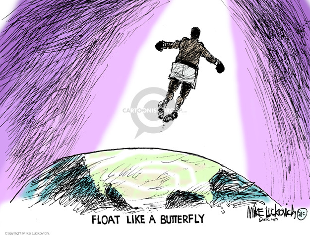 Mike Luckovich  Mike Luckovich's Editorial Cartoons 2016-06-06 boxing