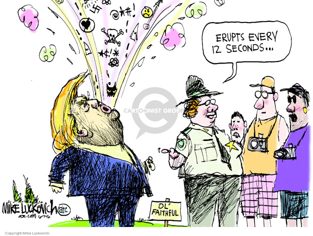 Mike Luckovich  Mike Luckovich's Editorial Cartoons 2016-06-07 racism