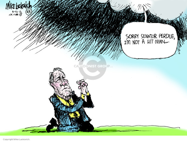 Mike Luckovich  Mike Luckovich's Editorial Cartoons 2016-06-12 Barack Obama