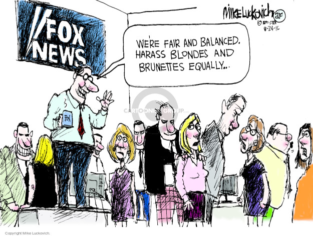 Mike Luckovich  Mike Luckovich's Editorial Cartoons 2016-08-24 television