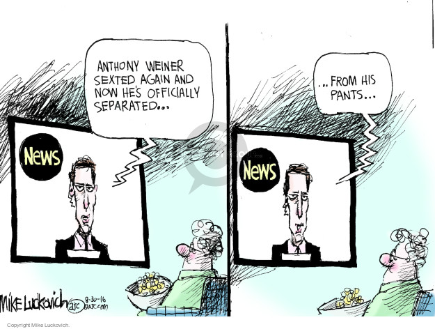 Cartoonist Mike Luckovich  Mike Luckovich's Editorial Cartoons 2016-08-30 marriage