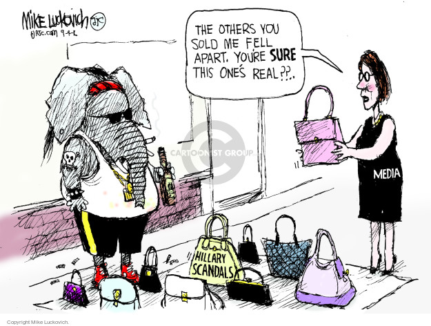 Mike Luckovich  Mike Luckovich's Editorial Cartoons 2016-09-04 journalism
