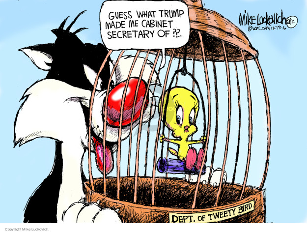 Mike Luckovich  Mike Luckovich's Editorial Cartoons 2016-12-15 president