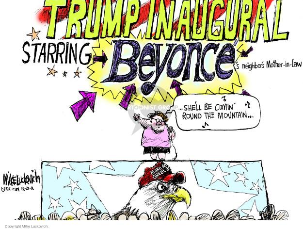 Cartoonist Mike Luckovich  Mike Luckovich's Editorial Cartoons 2016-12-21 Presidency