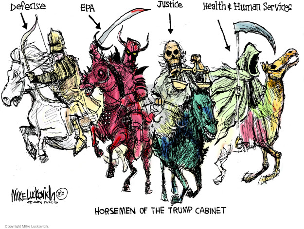 Mike Luckovich  Mike Luckovich's Editorial Cartoons 2016-12-22 human