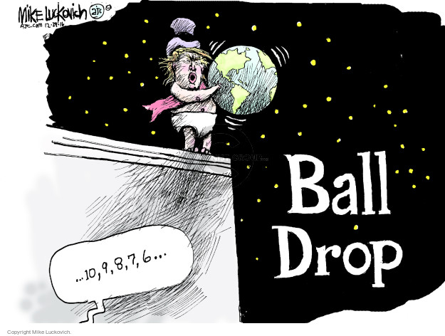 Mike Luckovich  Mike Luckovich's Editorial Cartoons 2016-12-29 year