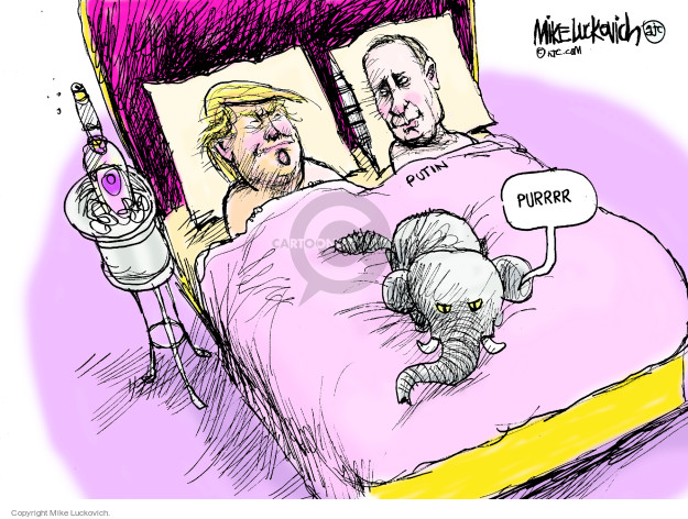 Mike Luckovich  Mike Luckovich's Editorial Cartoons 2017-01-01 president