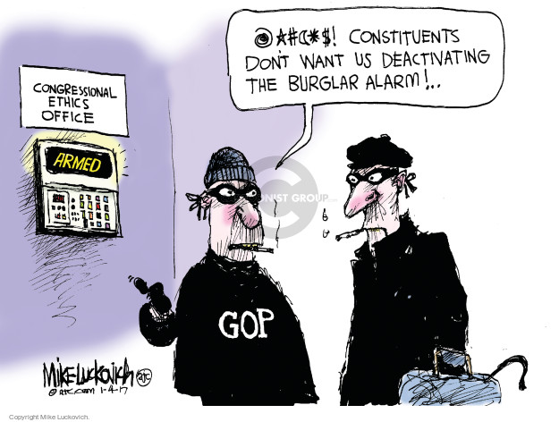 Mike Luckovich  Mike Luckovich's Editorial Cartoons 2017-01-04 oversight