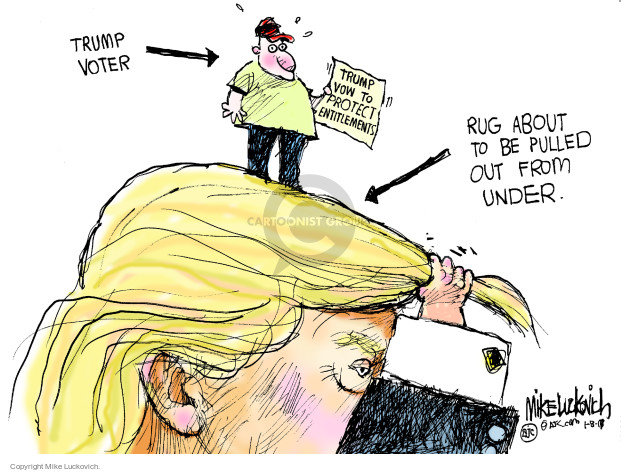 Mike Luckovich  Mike Luckovich's Editorial Cartoons 2017-01-08 supporter