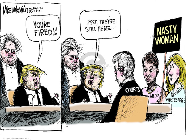 Mike Luckovich  Mike Luckovich's Editorial Cartoons 2017-02-08 journalism