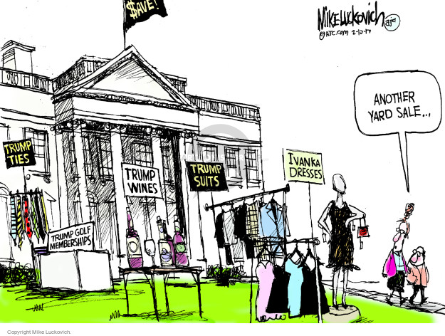Mike Luckovich  Mike Luckovich's Editorial Cartoons 2017-02-10 conflict