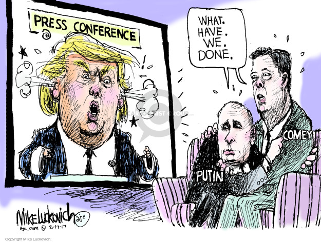 Mike Luckovich  Mike Luckovich's Editorial Cartoons 2017-02-17 journalism