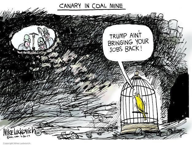 Cartoonist Mike Luckovich  Mike Luckovich's Editorial Cartoons 2017-03-30 Trump administration