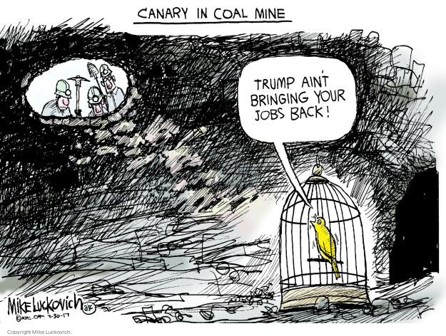 Mike Luckovich  Mike Luckovich's Editorial Cartoons 2017-03-30 regulation