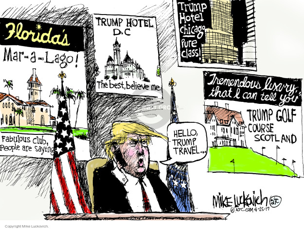 Mike Luckovich  Mike Luckovich's Editorial Cartoons 2017-04-25 class