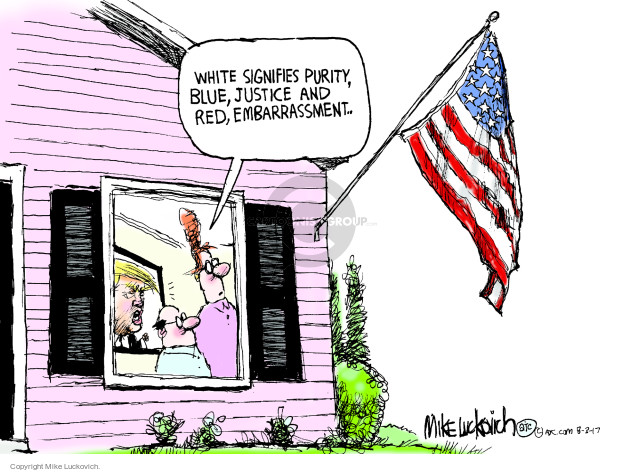 Cartoonist Mike Luckovich  Mike Luckovich's Editorial Cartoons 2008-03-17 president