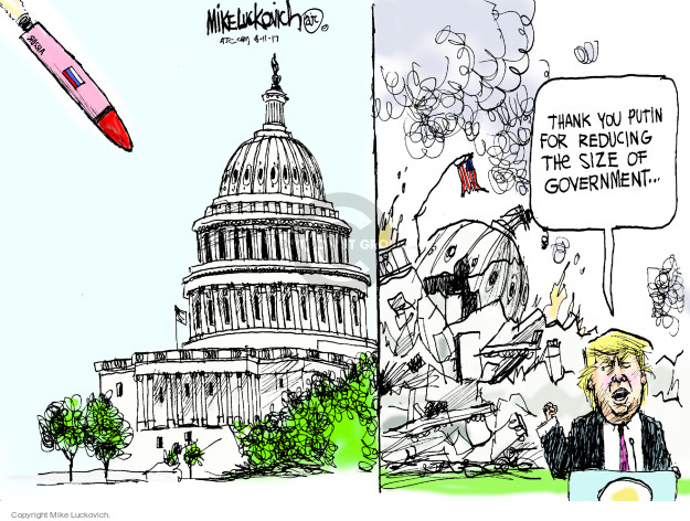 Cartoonist Mike Luckovich  Mike Luckovich's Editorial Cartoons 2008-11-17 size