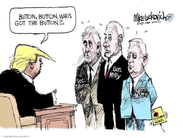 Mike Luckovich  Mike Luckovich's Editorial Cartoons 2017-10-12 presidential administration