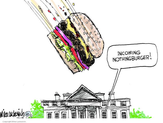 Incoming nothingburger!